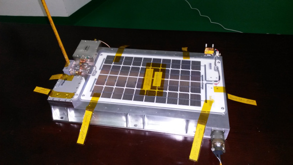LX0OHB-4M amateur radio lunar payload – Credit LuxSpace